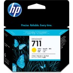 HP 711 Tri-pack Ink Cartridge - Yellow HEWCZ136A