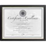 DAX Black & Gold Certificate Frames DAXN1188N5
