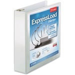 Cardinal ExpressLoad ClearVue Locking D-Ring Binder CRD49120