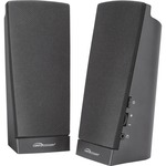 Compucessory Speaker System - 1 W RMS - Black CCS51544