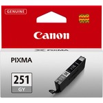 Canon CLI-251GY Ink Cartridge - Gray CNMCLI251GY