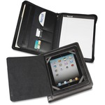 "Samsill Carrying Case (Flap) for 10.1"" iPad, Tablet PC - Black SAM70600"