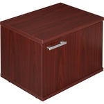 Lorell Concordia Laminate Desk Ensemble LLR81923