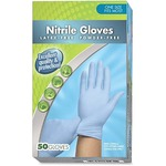 Medline Latex-free Nitrile Multipurpose Gloves MIIHH4045