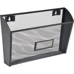 Lorell Black Mesh/Wire Wall Pocket LLR84144