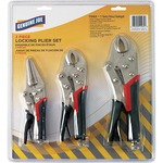 Genuine Joe 3pc Locking Plier Set GJO11965