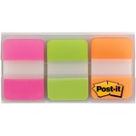 Post-it Durable Filing Tabs w/Dispenser MMM686PGOT