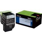 Lexmark Unison 701K Toner Cartridge - Black LEX70C10K0