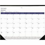 Rediform DuraGlobe Monthly Desk Pad Calendar REDC177227