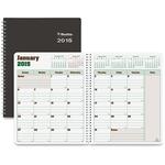 Rediform DuraGlobe Monthly Planner REDC23081T