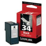 Lexmark Black High Yield Ink Cartridge LEX18C0034