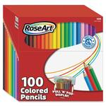 RoseArt 100 Presharpened Colored Pencil RAI1055AA4