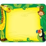Carson-Dellosa Self-adhesive Jungle Name Tags CDP150002