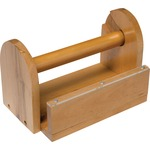 ChenilleKraft Tape Holder - Wood - Holds 8 Rolls CKC3861