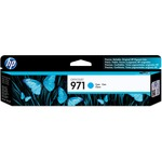 HP 971 Cyan Original Ink Cartridge HEWCN622AM