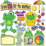 Carson-Dellosa Weather Frog Bulletin Board Set CDP110208