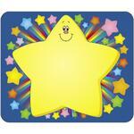 Carson-Dellosa Self-Adhesive Rainbow Star Name Tag CDP150006