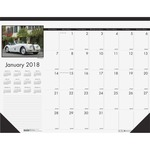 House of Doolittle Classic Cars Calendar Desk Pad HOD1696