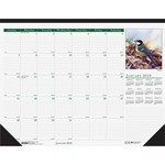 House of Doolittle Wild Birds Calendar Desk Pad HOD192
