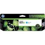 HP 971XL High Yield Cyan Original Ink Cartridge HEWCN626AM