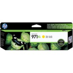 HP 971XL High Yield Yellow Original Ink Cartridge HEWCN628AM