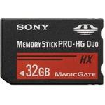 Sony MSHX32B/MN 32 GB Memory Stick PRO-HG Duo HX SONMSHX32BMN