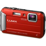 Panasonic Lumix DMC-TS25 16.1 Megapixel Compact Camera - Red PANDMCTS25R