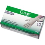 Curad Stretch Vinyl Exam Gloves MIICUR8225R