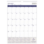 DuraGlobe Monthly Wall Calendar REDC171203