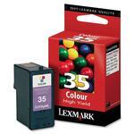 Lexmark Color High Yield Ink Cartridge LEX18C0035