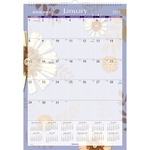 At-A-Glance Paper Flower Monthly Wall Calendar AAGPF228
