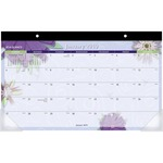 At-A-Glance Paper Flower Calendar Desk Pad AAGPF5032