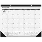 At-A-Glance Classic Style Mthly Desk Pad Calendar AAGSK240014