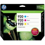 HP 920 Combo Creative Pack-10 sht/4 x 6 in and 10 sht/5 x 7 in HEWB3B30FN