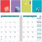 Rediform Academic 14-Month Pocket Planner REDCA701PAASX-BULK