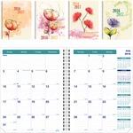 Rediform Blossom Academic Monthly Planner REDCA701PTASX