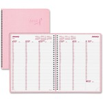 Rediform Breast Cancer Weekly Appointment Book REDCB950PNK