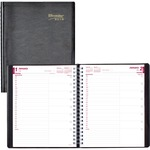 Rediform 1PPD Twin-wire Daily Planner REDCB965BLK
