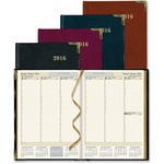 Rediform Aristo Bonded-leather Weekly Executive Planner REDCBE512ASX