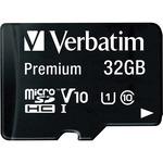 Verbatim 32GB microSDHC Card (Class 10) w Adapter VER44083