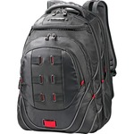 "Samsonite Tectonic Carrying Case (Backpack) for 17"" Notebook - Black, Red SML515311073"