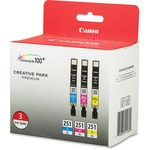 Canon 251 XL Ink Cartridge - Cyan, Magenta, Yellow CNM6449B009