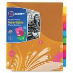 Avery Big Tab Pocket Insertable Plastic Dividers AVE07713