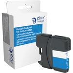 Elite Image Ink Cartridge - Remanufactured for Brother (LC61CYN) - Cyan ELI75770