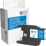 Elite Image Ink Cartridge - Remanufactured for Brother (LC75C) - Cyan ELI75774