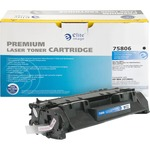 Elite Image Ink Cartridge - Remanufactured for HP (CF280A) - Black ELI75806