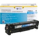 Elite Image Toner Cartridge - Remanufactured for HP (CE410A) - Black ELI75811