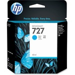 HP 727 Ink Cartridge - Cyan HEWB3P13A