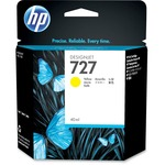 HP 727 Ink Cartridge - Yellow HEWB3P15A