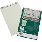 Skilcraft Gregg Ruled Recycled Steno Notebook NSN6116426